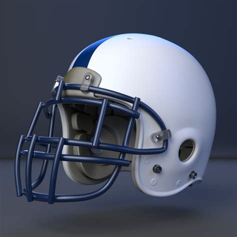 Model Download: American Football Helmet BlenderNation