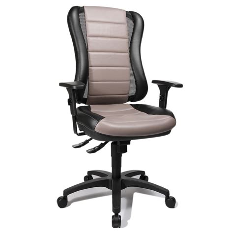 Office Chairs 30 Point 30 Black And Taupe Fabric Office Chair He30ps103e