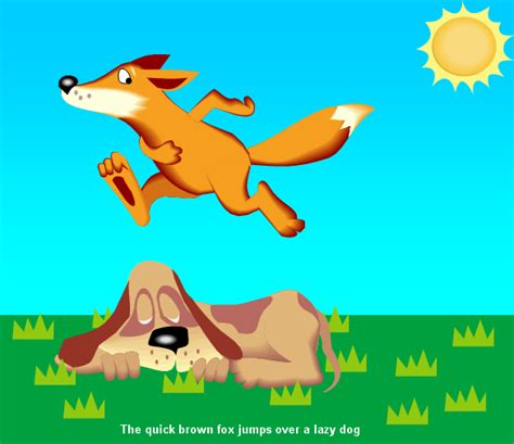 the fox jumped the lazy the brown fox jumps the lazy la enciclopedia libre