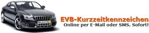 Motorrad Evb Online by Evb Kurzzeitkennzeichen Hier Online Sofort Erhalten