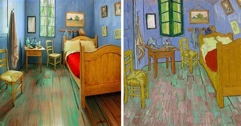 artists recreated van goghs famous bedroom  rented