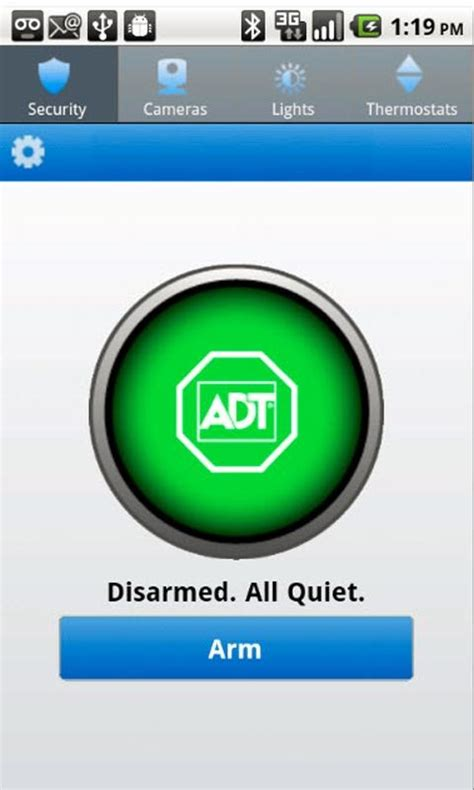 adt android android users can now their adt home security systems from anywhere thanks to adt pulse