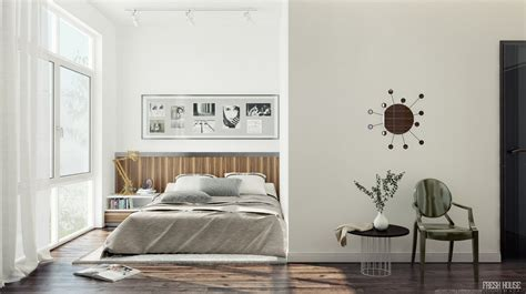 white bedroom decor chic contemporary spaces rendered by anh nguyen