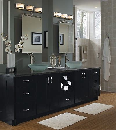 sinks master bath: schrock cabinetry master bath with double sinks also note that a