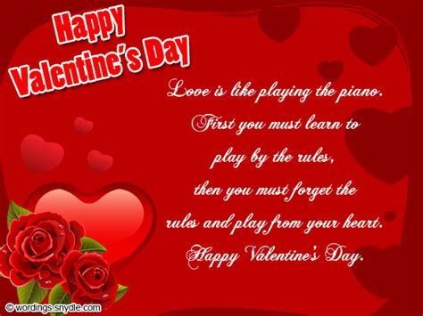 happy valentines messages card messages www imgkid the image kid