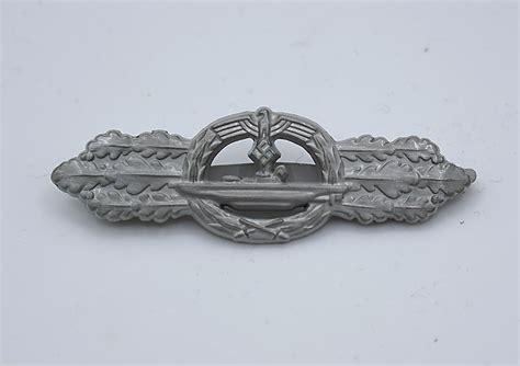 u boat clasp u boat combat clasp in silver