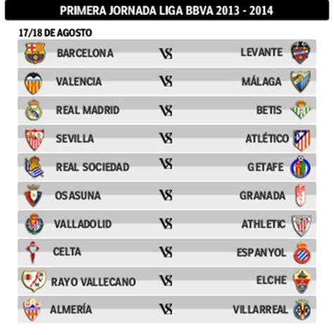 R Madrid Calendrier Liga Marca