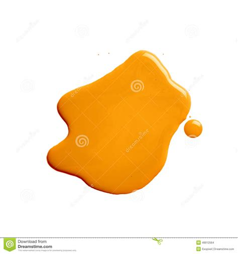 the puddle of a paint spill stock photo image 48912564
