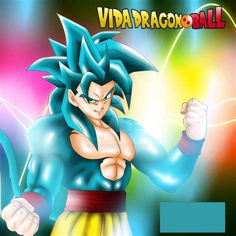 imagenes goku azul imagenes de goku fase 4 dios gratis wallpaper descargar