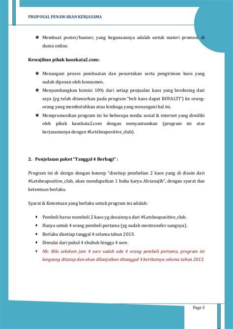 membuat proposal untuk freelance proposal penawaran kerjasama