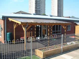 Perspex Awnings by Timber And Perspex Canopies Setter Shelters Uk