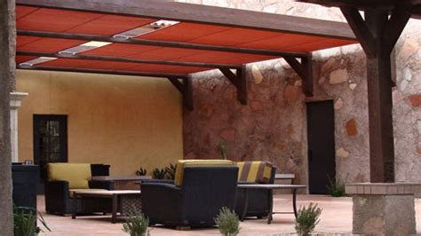 Shade options for patios, canvas patio cover roof