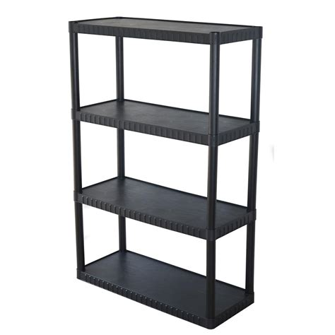plastic garage storage shelves garage shelves racks