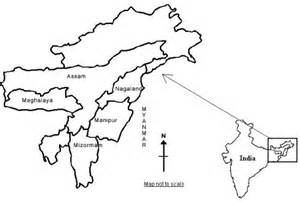 East India Map Outline by Figure 1 Spatial Distribution And Characteristics Of Injecting Users Idu In Five