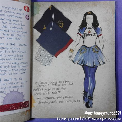 Evie Fashion by Descendants 2 Evie S Fashion Book Honeycrunch321