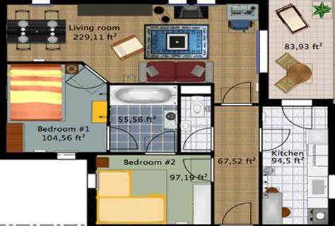 free 2d floor plan software free home design software 2 1 joy studio design gallery