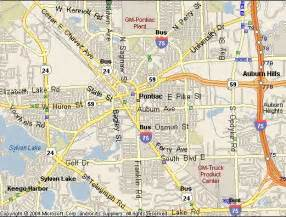 Pontiac Mi Map Moving Companies Help Labor Pontiac Michigan Mi