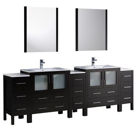 Fresca Torino 96 In Double Vanity In With