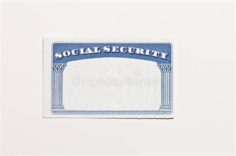 free blank social security card template pdf blank social security card stock image image of document