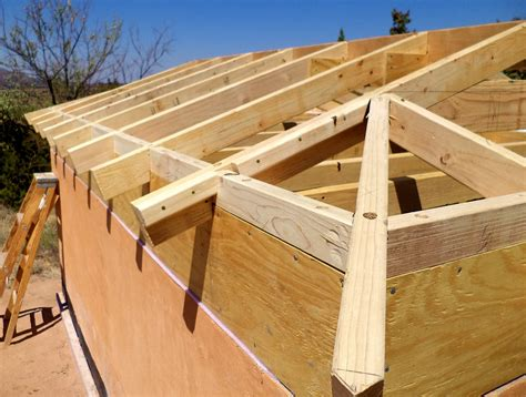 a frame roof design alt build blog building a well house 4 framing the hip
