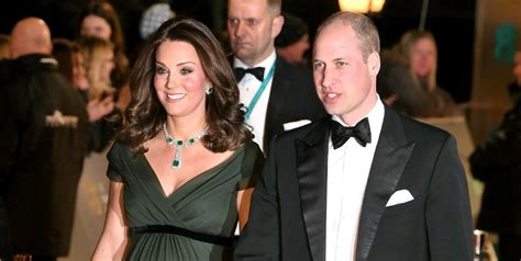 kate rockwell wedding baftas 2018 kate middleton and prince william walk the