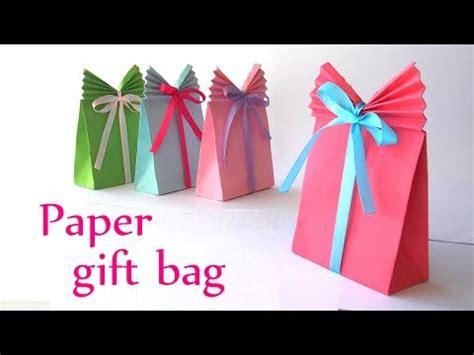 Make Origami Gift Bag - diy crafts paper gift bag easy innova crafts vgn