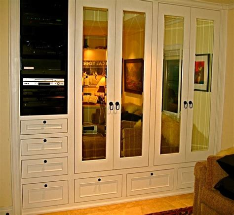 Custom Built In Closet by Made His Custom Closet Media Center By Ps Woodworking Custommade