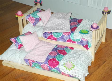 american doll bed american girl doll bed pretty posies trundle bed fits