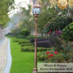Landscape Light Post Buy Wholesale Garden Light Post From China Garden Light Post Wholesalers Aliexpress