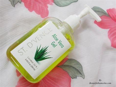 Aloe Vera Gel Shelf by St D Vence Aloe Vera Gel Review Beautifulhameshablog