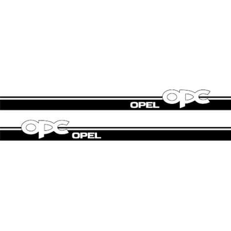 Tuning Sticker Opel by Sticker Kit Bandes Kit Bandes Opel Opc