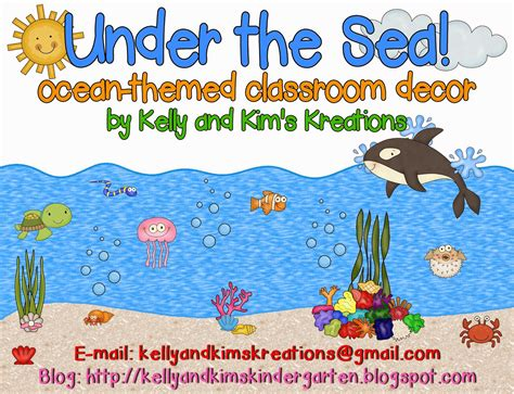 kelly and kim s kreations friday freebie ocean themed kelly and kim s kindergarten kreations markdown monday