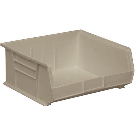 stackable storage akro mils stackable bins in plastic storage bins