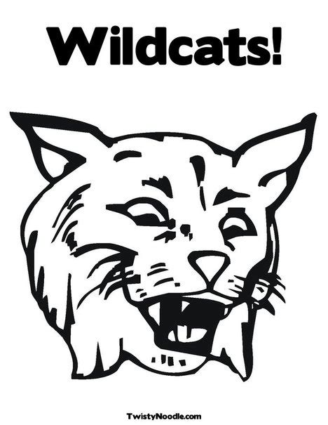 free kentucky wildcats coloring pages free kentucky wildcats coloring pages