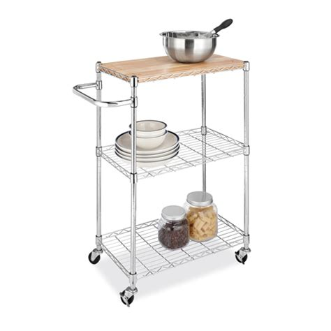 rolling kitchen island cart in kitchen island carts