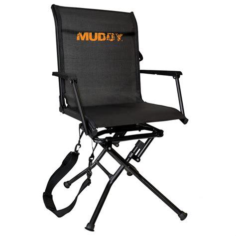 Muddy Swivel Ease Ground Blind Chair 654212 Ground Swivel Blind Chair