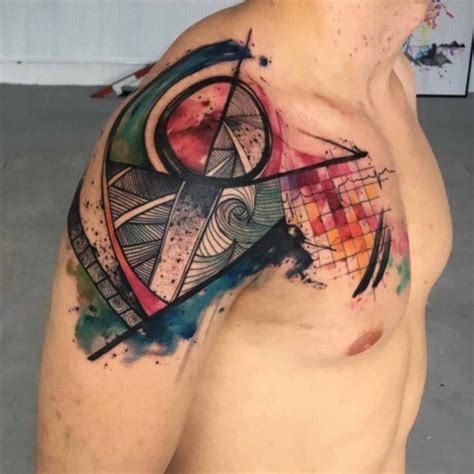abstract art tattoo designs 40 abstract designs bored