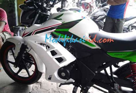 Half Fairing New Cb150r Model Hitam Doff half fairing verza fi modifikasi id fairing store