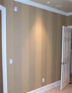 what color to paint wood paneling idea for painting over the wood panelling in the basement a clear gloss finish on every second