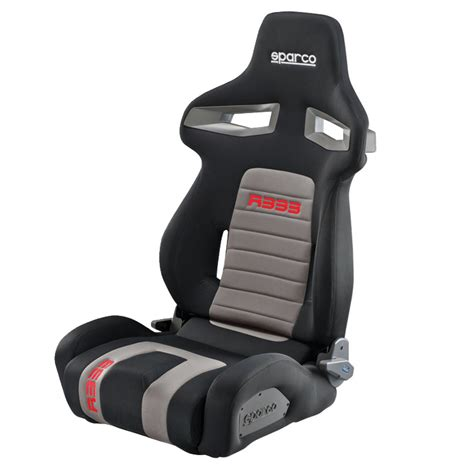 sparco r333 reclining sport seat gsm sport seats