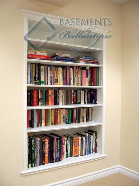 recessed bookshelves 17 best images about between the studs on