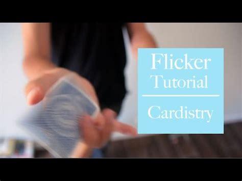 tutorial youtube gratuit apprendre les flourishes le flicker tutorial gratuit
