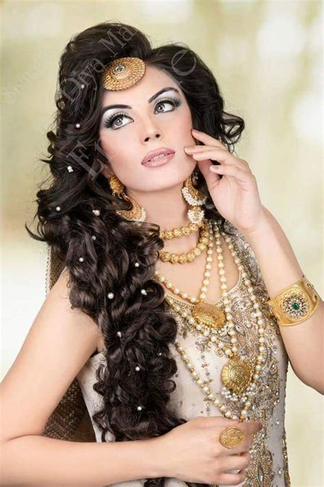 hairstyle design pakistani stylish and trendy pakistani bridal wedding hairstyle