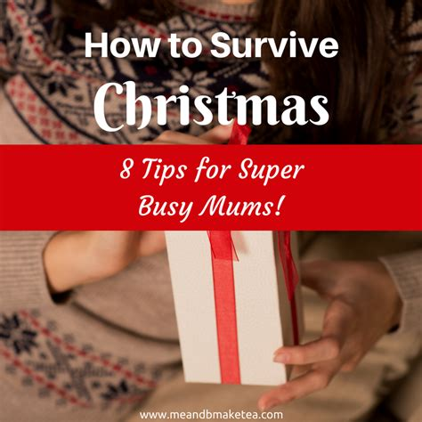 8 Tips For Surviving The Season by On The Day Of Parenting How To Survive The