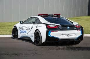 formula e s bmw i8 safety car driven on track autocar