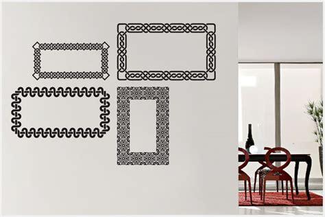 attack cornici wrapitup adesivi murali cornici fr103 wall stickers