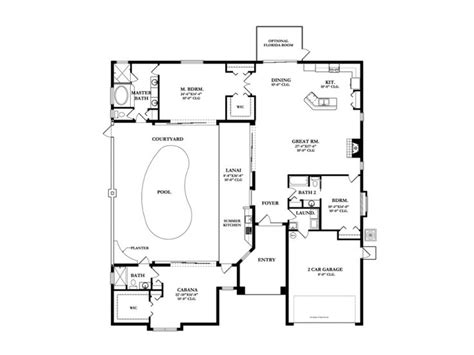 house plans with courtyard pools house plan w courtyard pool sims 3 house plans