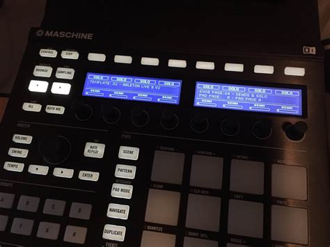 Maschine Mk2 Template Not Working In Ableton Live 9 Ni Community Forum Maschine Ableton Template