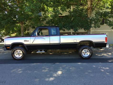 Pickup Bed Liner 1992 Dodge Ram W250 4x4 Club Cab 5 9l Cummins Turbo Diesel