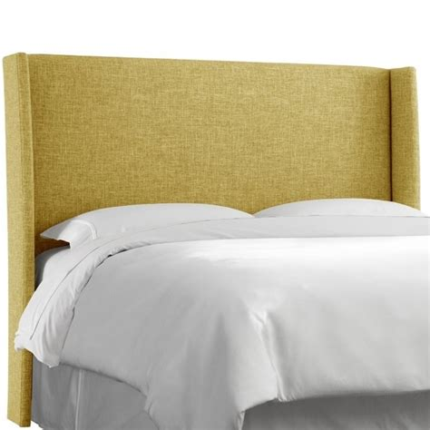skyline upholstered headboards skyline upholstered wingback full headboard in golden